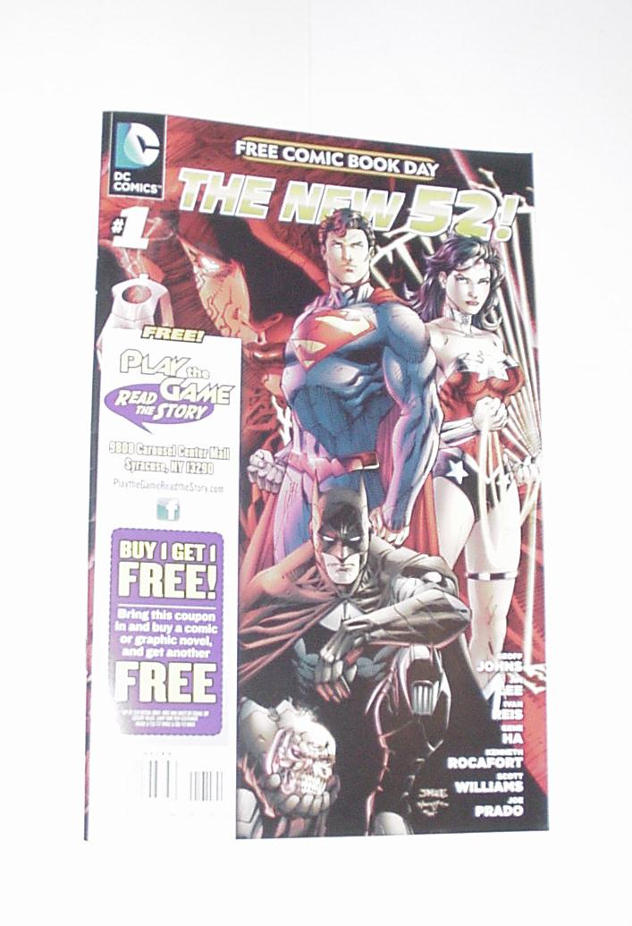 FCBD 2012 The New 52 # 1 Geoff Johns Jim Lee Retai