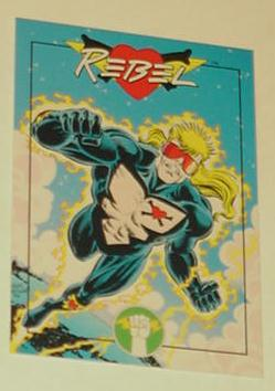 Dark Horse Rebel Trading Card Jerry Ordway Art Top