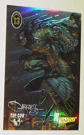 Darkness Chromium Trading Card Marc Silvestri # 13