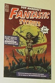 Don Marquez's Fantastic Stories Double Sided Tradi