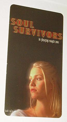 Soul Survivors Promo Card 4 of 4 NM 2001