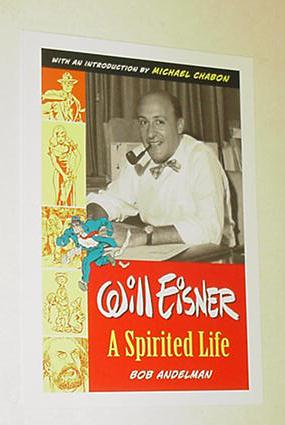 Will Eisner A Spirited Life Promo