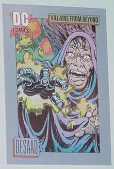 Desaad Trading Card Apokolips Forever People