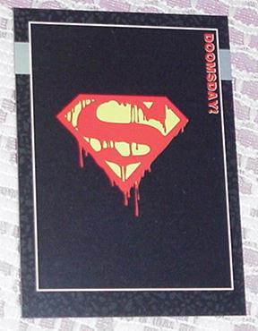 Death of Superman Trading Card Doomsday Promo 00