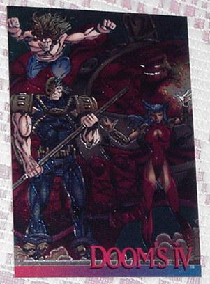 Dooms IV Image Chromium Card Image # 8 Mark Pacell