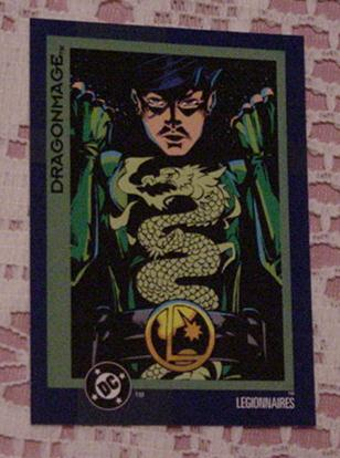 DC Comics Dragonmage Trading Card Legionaires Prom