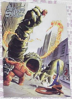 Fantastic Four Trading Card Alex Ross Art Promo