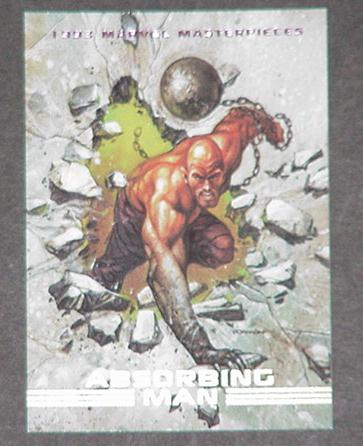 Absorbing Man Trading Card Thor Avengers Dave Dorm