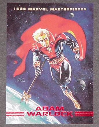 Adam Warlock Trading Card Guardians of the Galaxy