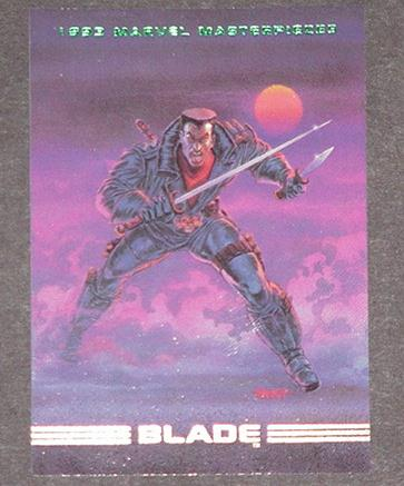 Blade Trading Card Vampire Hunter Tom Palmer