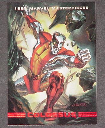 Colossus Trading Card Julie Bell X-Men X-Force
