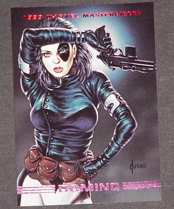 Domino Trading Card X-Force X-Men Cable Joe Jusko