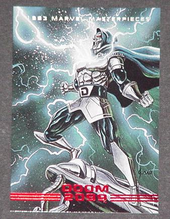 Doom 2099 Trading Card Joe Jusko