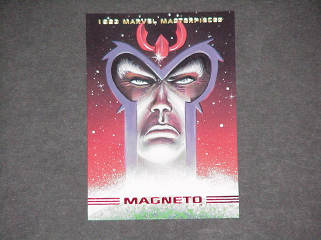 Magneto Trading Card Jimmy Palmiotti X-Men