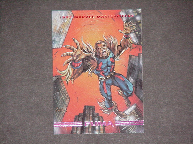 Puma Trading Card Spider-Man Joe Phillips