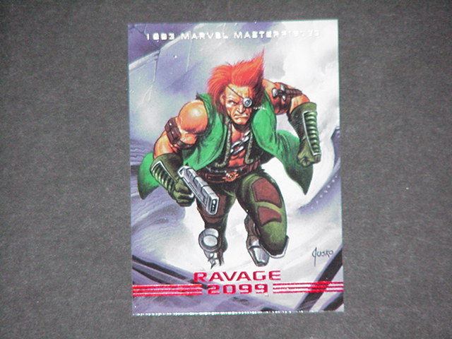 Ravage 2099 Trading Card Joe Jusko