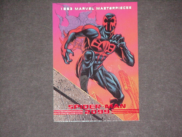 Spider-Man 2099 Trading Card Joe Jusko