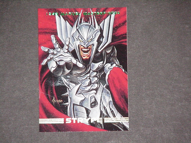 Stryfe Trading Card Joe Jusko X-Men X-Force Cable