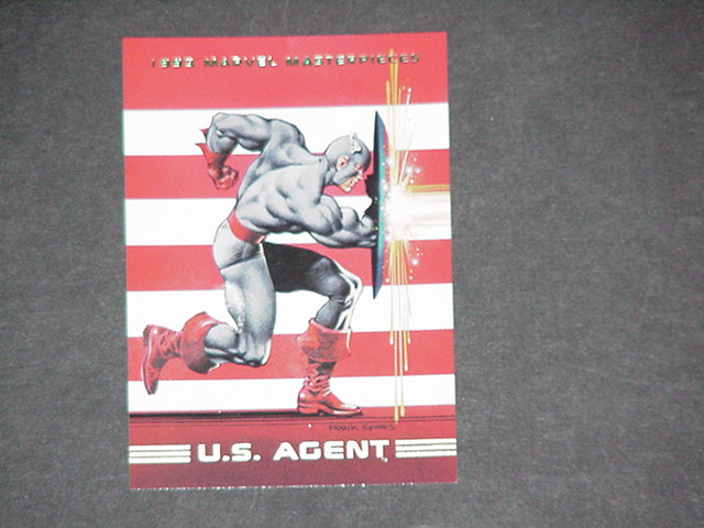 U.S. Agent Trading Card US Agent Frank Spinks