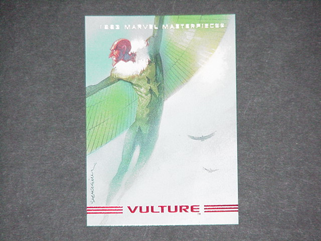 Vulture Trading Card Bill Sienkiewicz Spider-Man