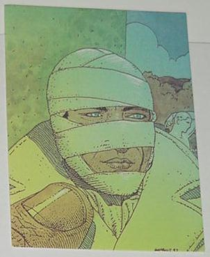 Airtight Garage Trading Card Moebius Art