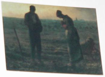 Angelus Trading Card Jean-Francois Millet