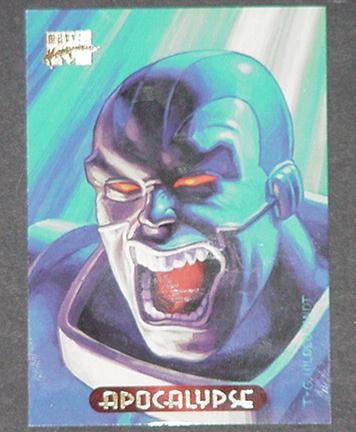 Apocalypse Trading Card Uncanny X-Force Greg Tim H