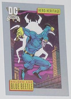 Blue Beetle Trading Card Golden Age Mystery Men