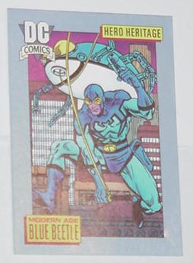 Blue Beetle Trading Card Modern Age DC Countdown