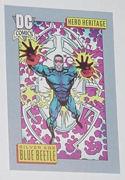 Blue Beetle Trading Card Silver Age
