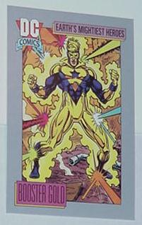 Booster Gold Trading Card