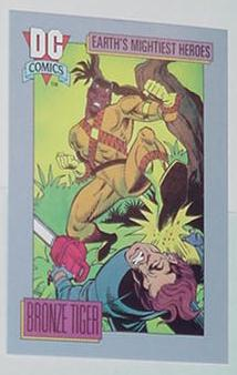 Bronze Tiger Trading Card DC Comics