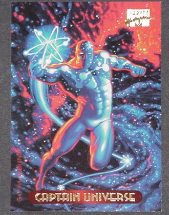 Captain Universe Trading Card Spider-Man Greg Tim
