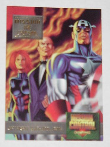 Captain America Black Widow Jarvis Trading Card Ga