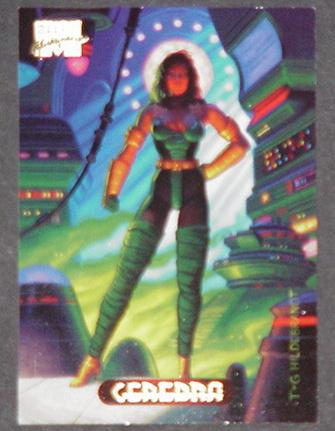 Cerebra Trading Card X-Men 2099 Greg Tim Hildebran