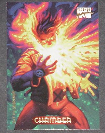 Chamber Trading Card Wolverine and the X-Men Greg
