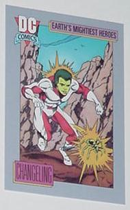 Changeling Trading Card Doom Patrol Teen Titans