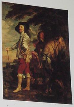 Charles I, King Of England Trading Card Anton Van