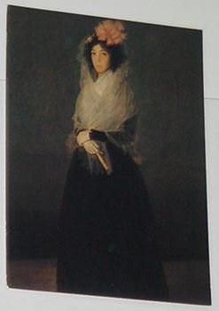 Countess Of Carpio Trading Card Francisco de Goya
