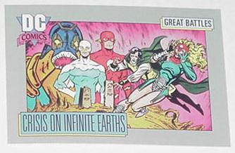 Crisis on Infinite Earths Trading Card Harbringer