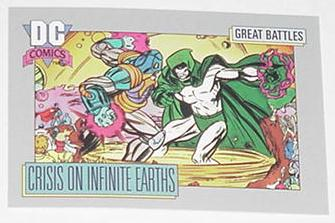 Crisis on Infinite Earths Trading Card Spectre vs