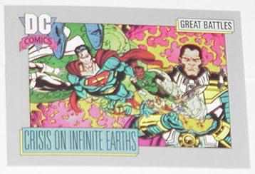 Crisis on Infinite Earths Trading Card Superman Jo