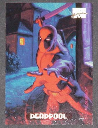 Deadpool Trading Card Hildebrandt Art X-Men