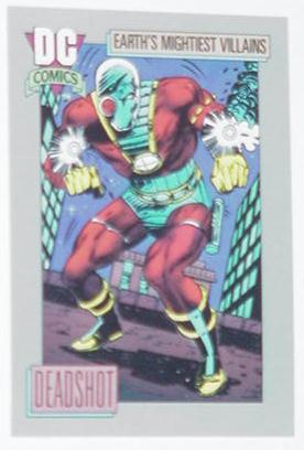Deadshot Trading Card Secret Six Villains United
