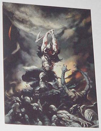 Death Dealer 2 Trading Card Frank Frazetta Art