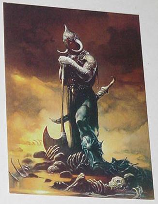 Death Dealer 3 Trading Card Frank Frazetta Art