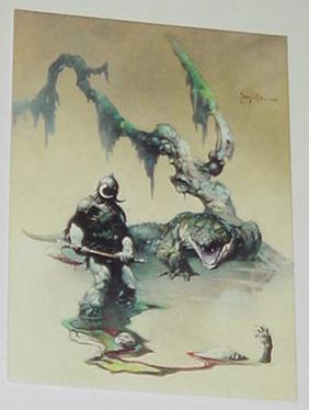 Death Dealer 4 Trading Card Frank Frazetta Art