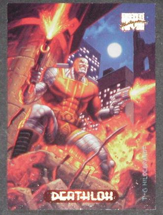 Deathlok Trading Card Uncanny X-Force Greg Tim Hil