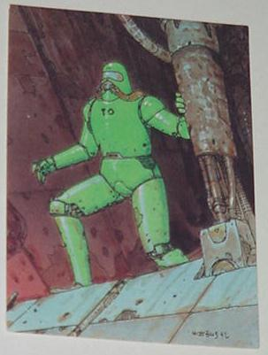 Denebian Trading Card Moebius Upon a Star