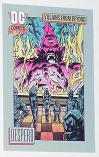 Despero Trading Card JLA Justice League Villain